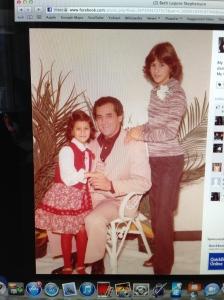Me, Dad & Lynn Circa 1978